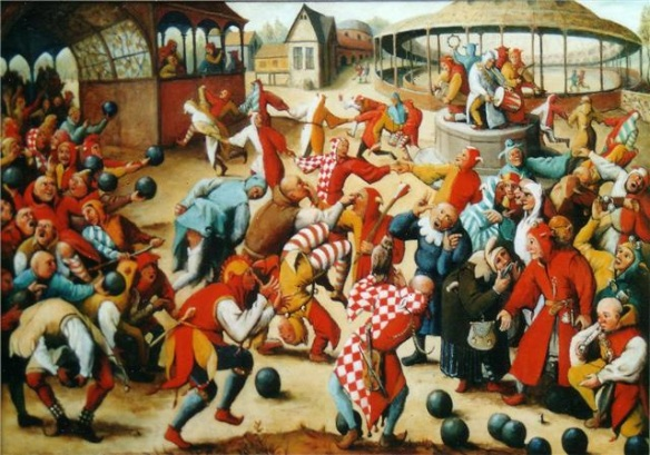 Feast of fools (Bruegel)