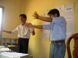 Two facilitators make the process stronger (credits: sreisaat/FlickR)