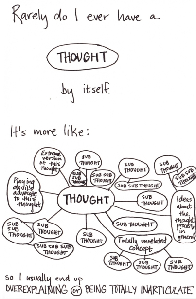 The birth of a thought? (image credits: unclear)