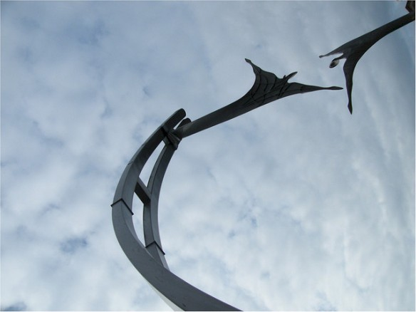 Empowerment - too perilous and futile? (credits: yohan1960/FlickR - sculpture by Stephen Broadbent)