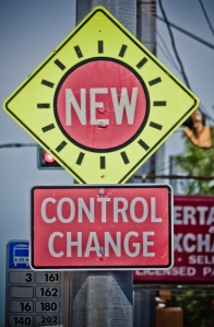 Control change  - perhaps new but still not the right way to deal with change (credits_DaleC_FlickR)