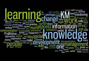 (Agile) KM for me... and you? as a word cloud
