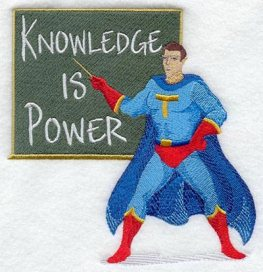 Knowledge is power (Credits - Tiffany and Lupus)
