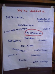 Social learning is...