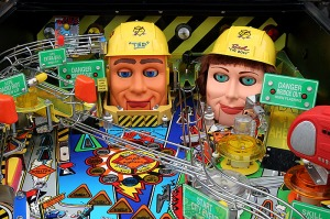 Balancing plans and opportunities is finding a balance between the pinball effect and the bulldozer drive