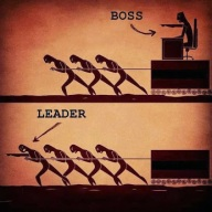 Leadership vs management (Credits - ocd007 / FlickR)