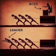 Leadership vs management (Credits - ocd007 / FlickR)